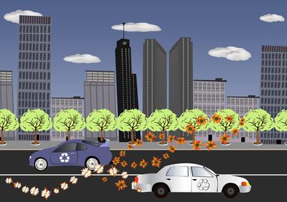 Alternative energy sources cars