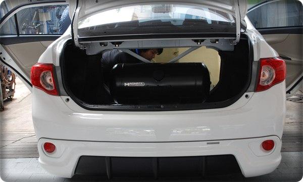 Liquefied Natural Gas Vehicles