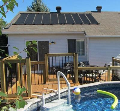 In-Ground SunQuest Solar Pool Heater