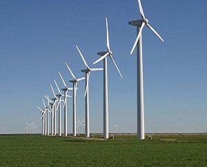 Wind Turbines in farms