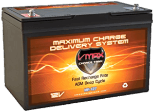 VMAX MR127 100Ah Deep Cycle Battery