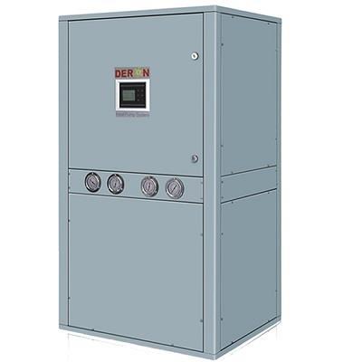 Vertical geothermal heat pumps