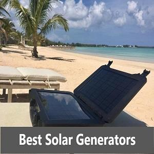 best portable solar-powered generators