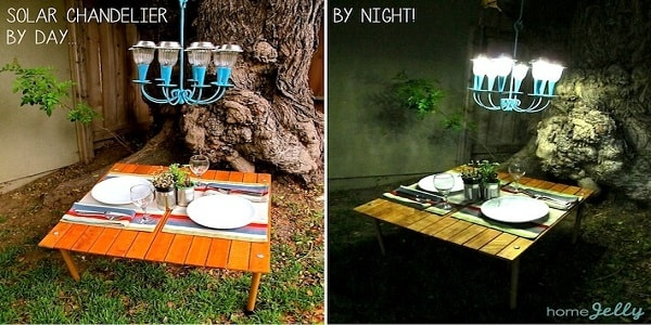 Candle holder solar light