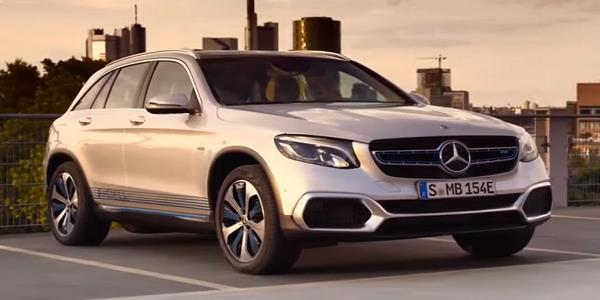 Mercedes GLC F-cell Electric-car