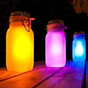 sun glass jar