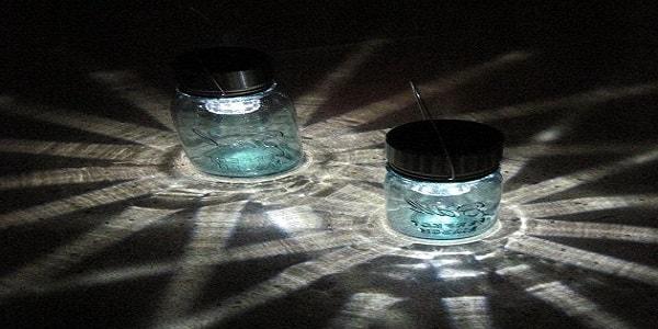 Solar mason jars