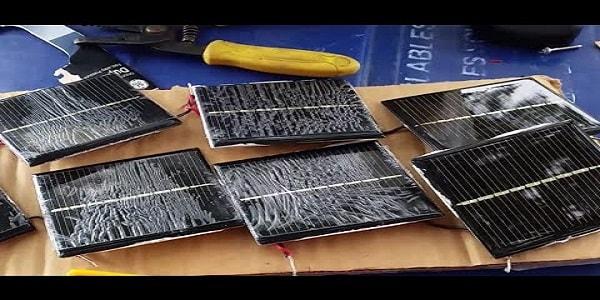 solar lights' panels